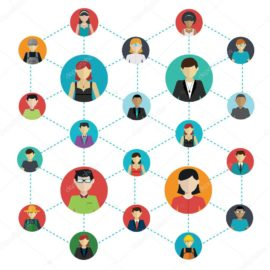 depositphotos_62664349-stock-illustration-networking-the-social-connections-between